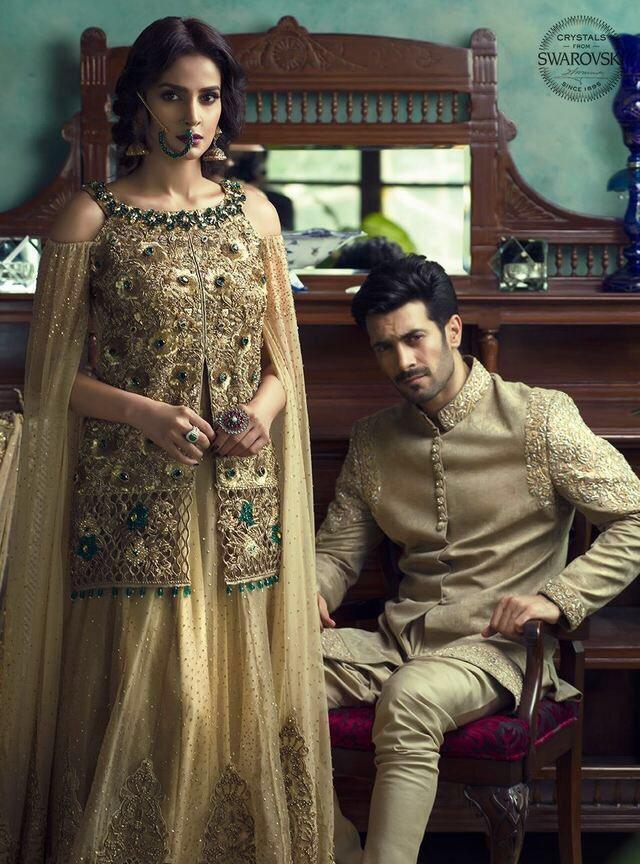 d952077cd2 Saba Qamar & Shahzad Noor shoot for Vogue India.