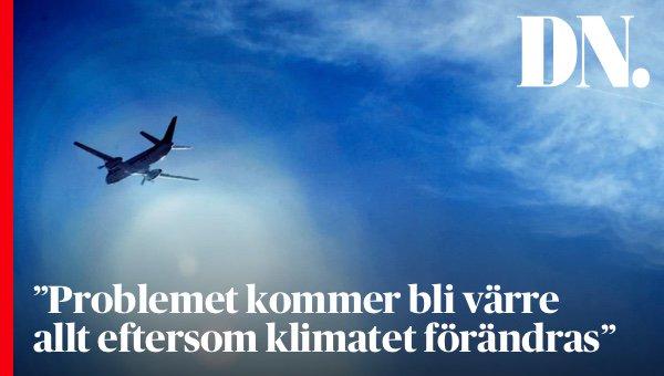 Forskare varnar flygturbulensen okar i framtiden