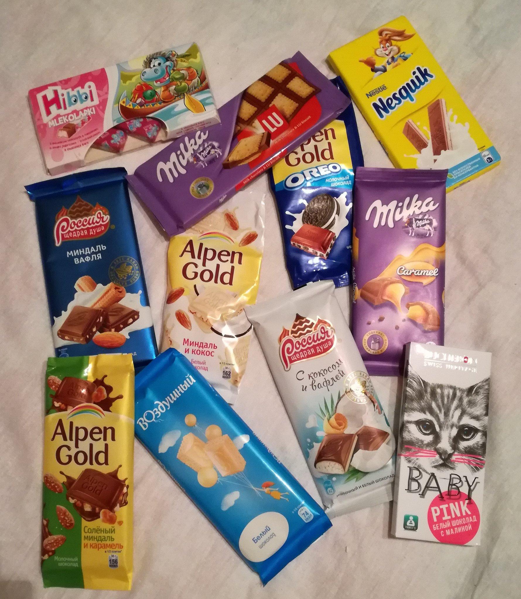 фотографии шоколадок в руках всем