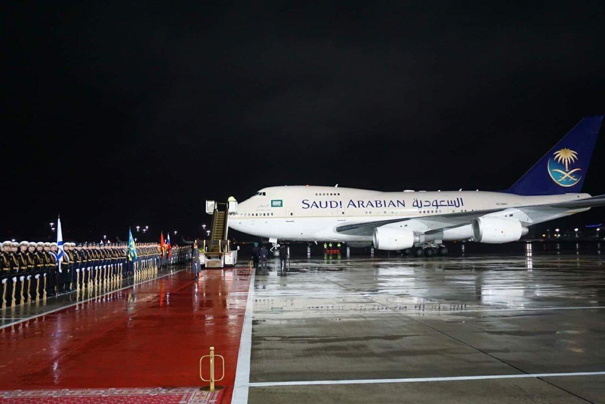 самолет короля саудовской аравии фото браке них родился