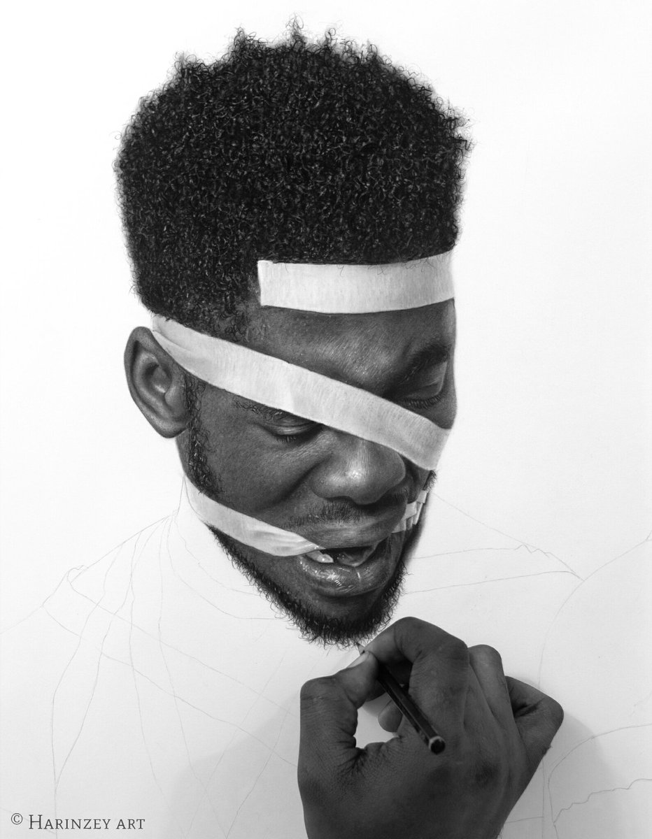 Arinze stanley on twitter wailing wailing and wailing pencil drawing on paper by arinze stanley harinzeyart