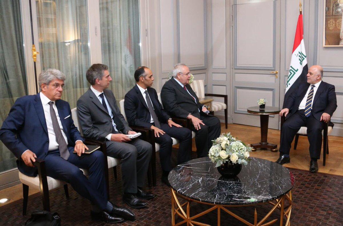 العبادي يحقق نجاحاً في باريس بتسريع العمل في تسليح القوّات العراقية DLUwUCSXcAUwmtM