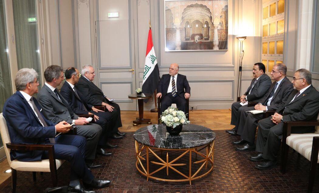 العبادي يحقق نجاحاً في باريس بتسريع العمل في تسليح القوّات العراقية DLUwUCTX0AAvoqL