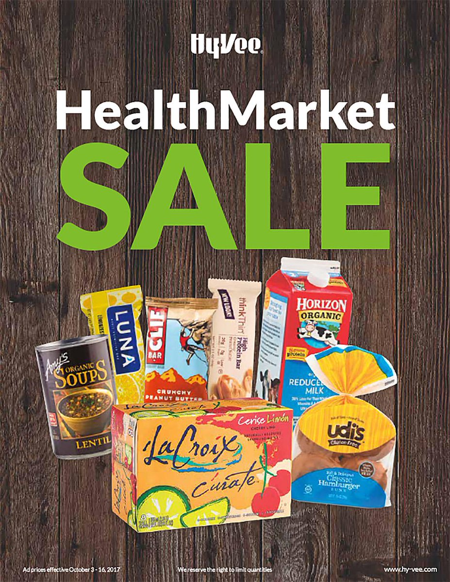 Our HealthMarket Sale is full of healthy items! Check out the full ad...