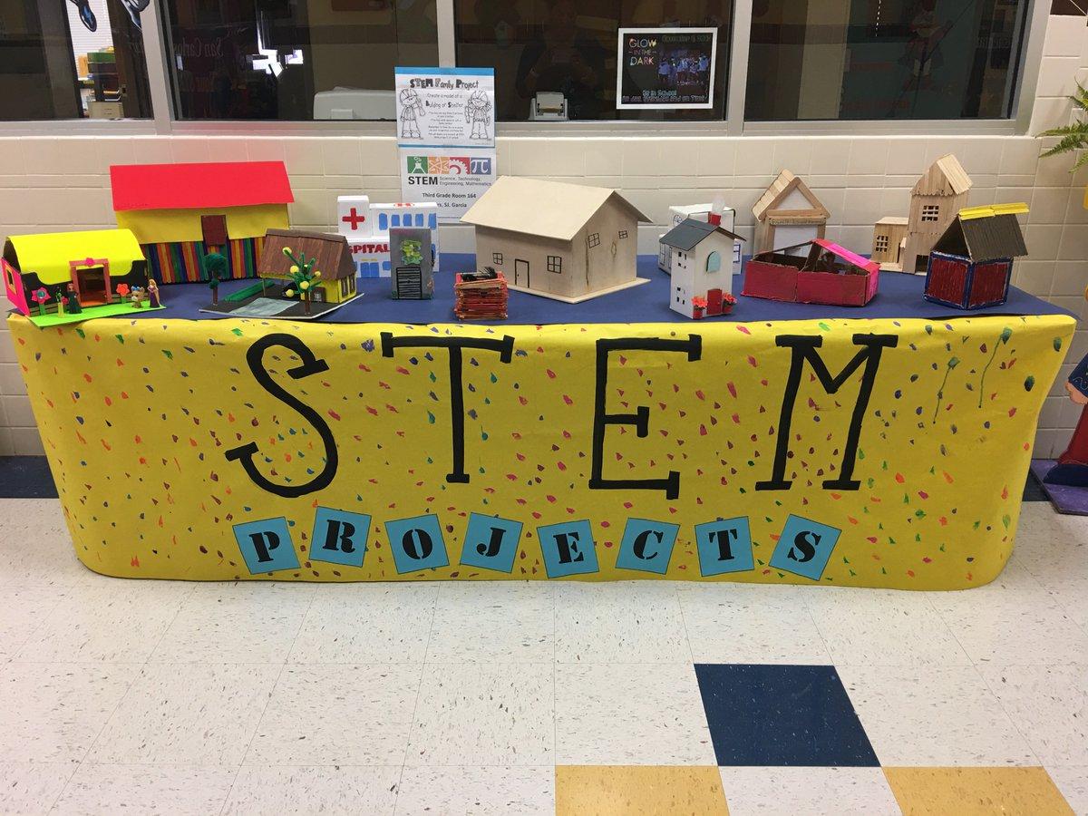 Sancarlosecisd On Twitter Mrs Sj Garcia S 3rd Grade Class Displays These Marvelous Stem Projects Great Job Stem Battlecatpride