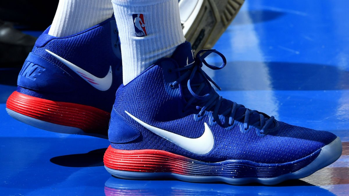 72866513b7e1 solewatch bensimmons25 makes his long awaited debut in the nike react  hyperdunk