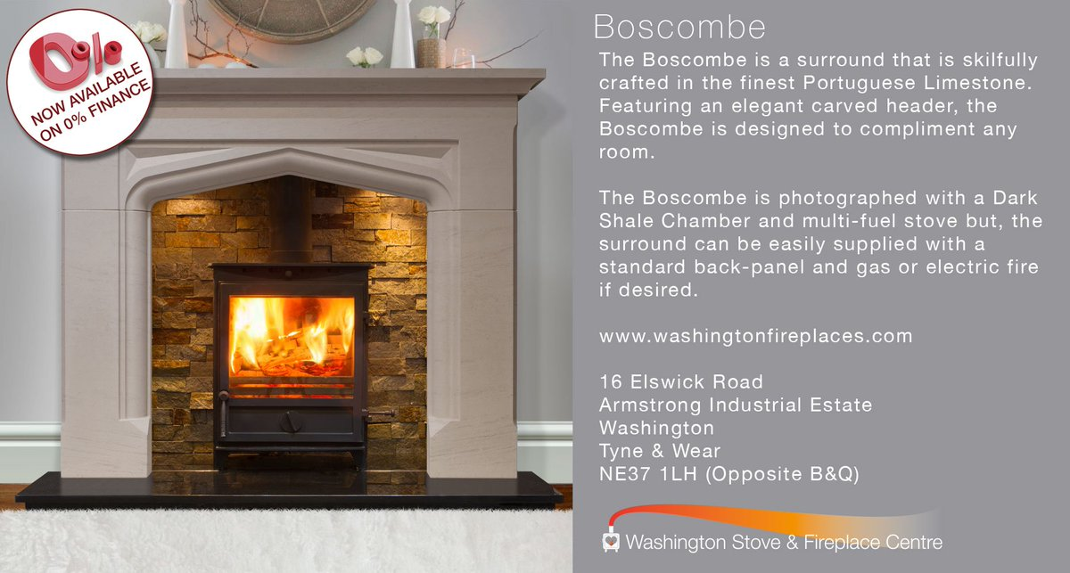 Washington Fireplace On Twitter The Boscombe Now Available With 0