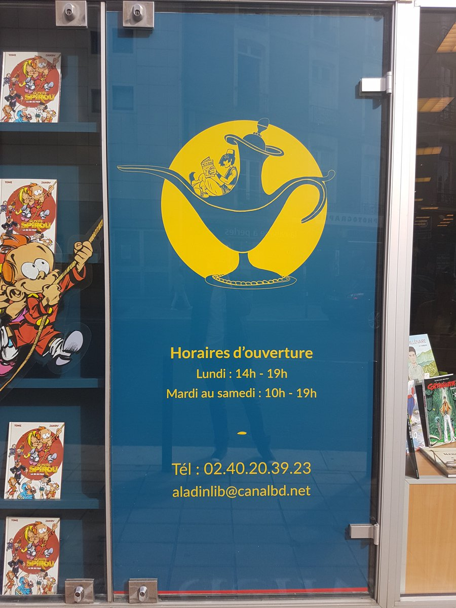 Art color nantes horaires - Agence Katla On Twitter Inauguration Samedi Nantes De La Librairie Aladin Relook E Par Katla Branding Design Communication Agencedecom