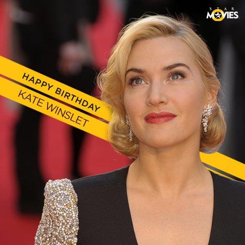 Happy birthday to Academy Award® winner Kate Winslet!