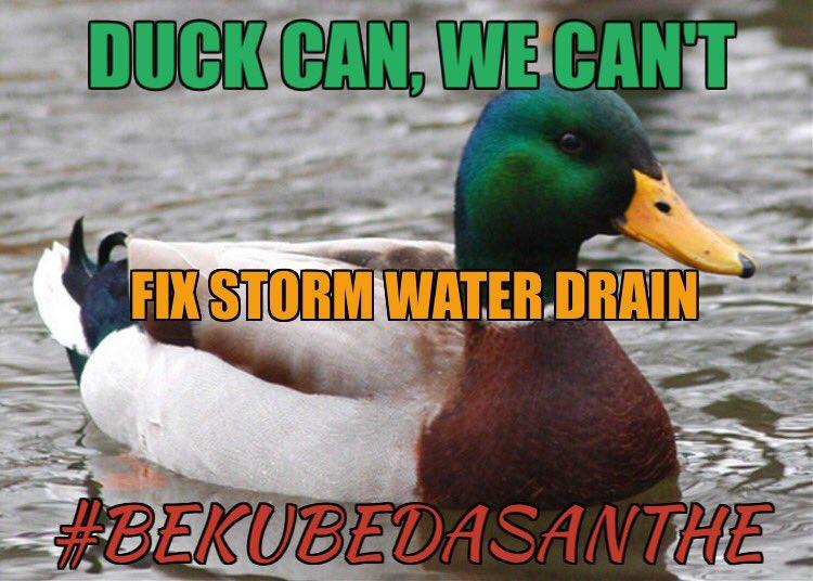 Don't duck our demands!   @CMofKarnataka @thekjgeorge @BBMP_MAYOR @citizensforblr  #BekuBedaSanthe
