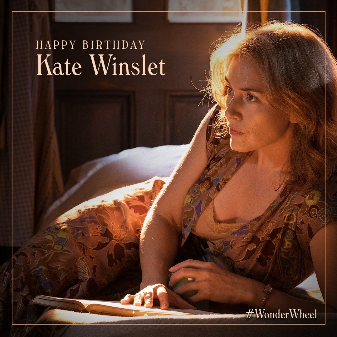 A very Happy Birthday to our leading lady Kate Winslet!