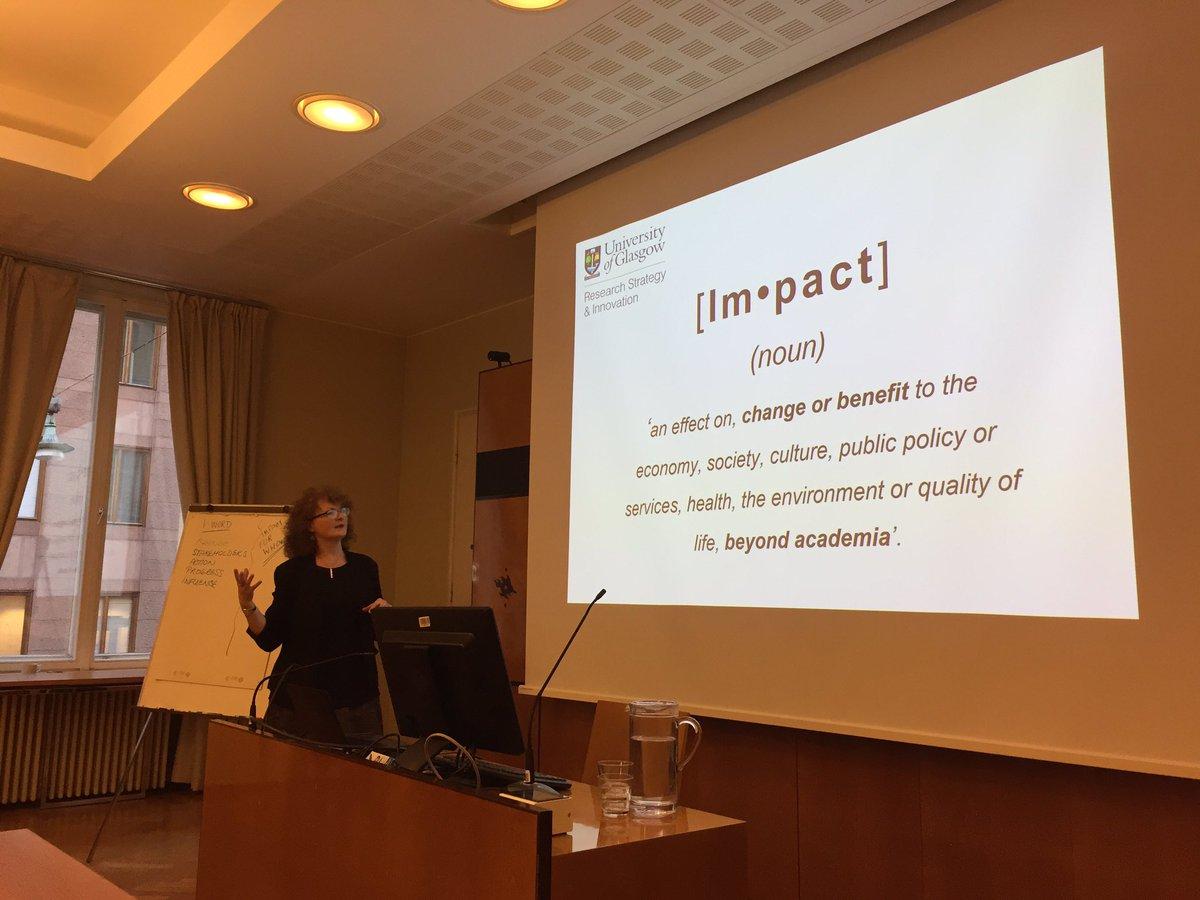 @helsinkiuni Advanced Impact Workshop. #impacthelsinki <br>http://pic.twitter.com/iCGbfWNZQC