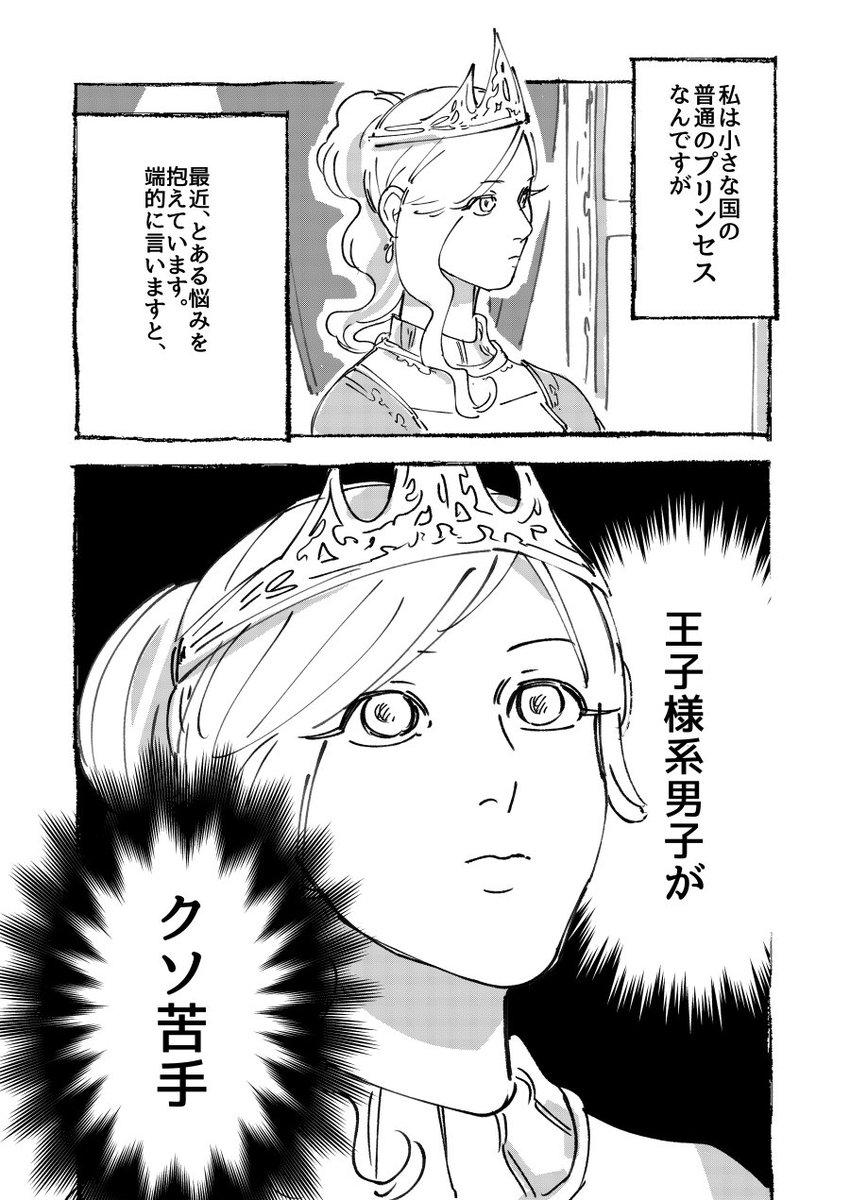 【創作】とあるお姫様の話