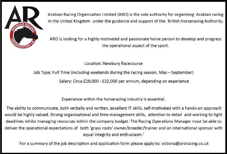 Arabian Racing Org on Twitter: