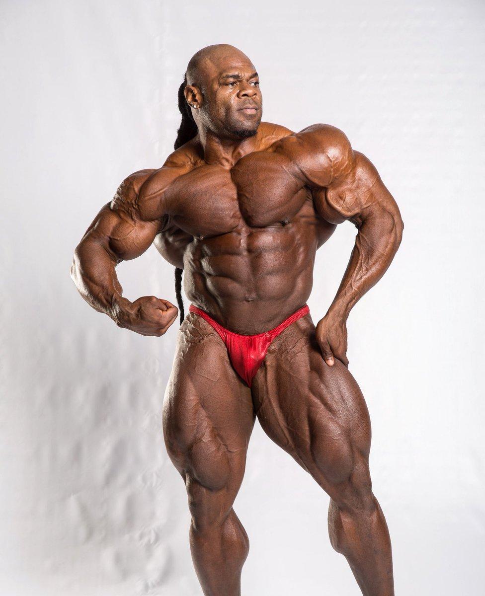 43-år gammel 173 cm høy Kai Greene i 2019