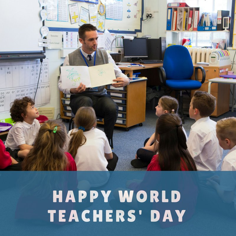 It is #WorldTeachersDay and we thank all our #teachers for their hard work helping young people become successful https://t.co/AXhNK0KMg5