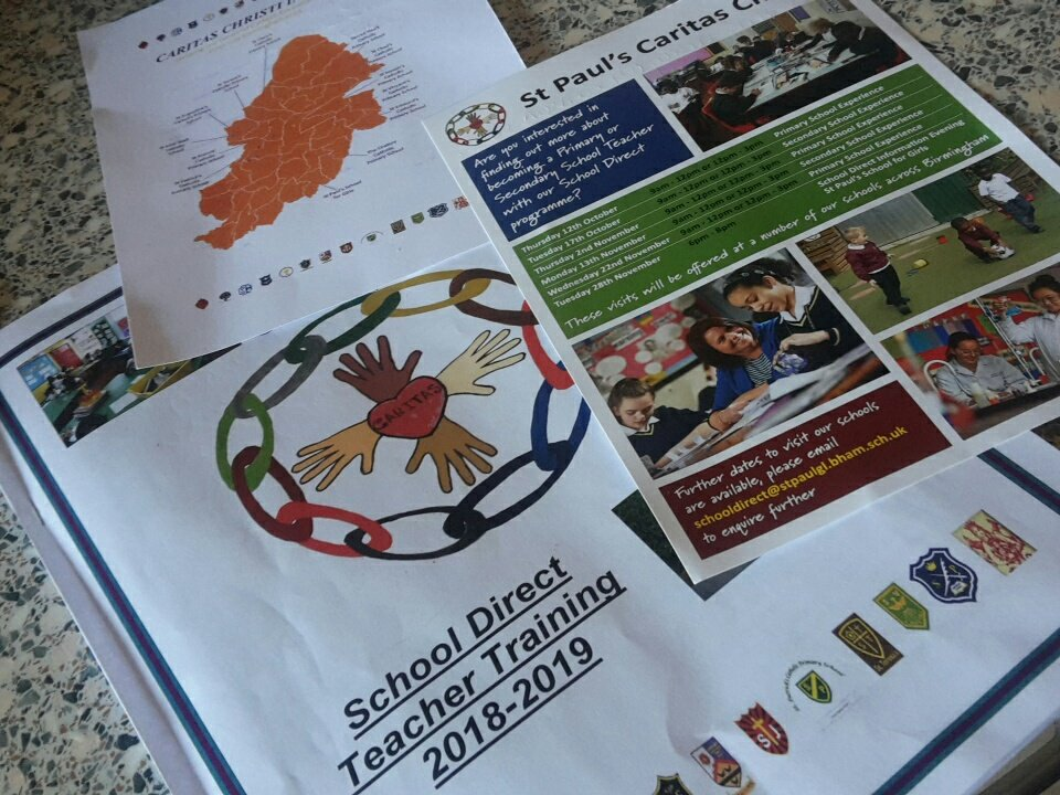Find @StPaul_CChristi  today @Newman_Uni. Work with an outstanding school gaining incredible support. #teachertraining #schooldirect https://t.co/RA3SWMrKAf