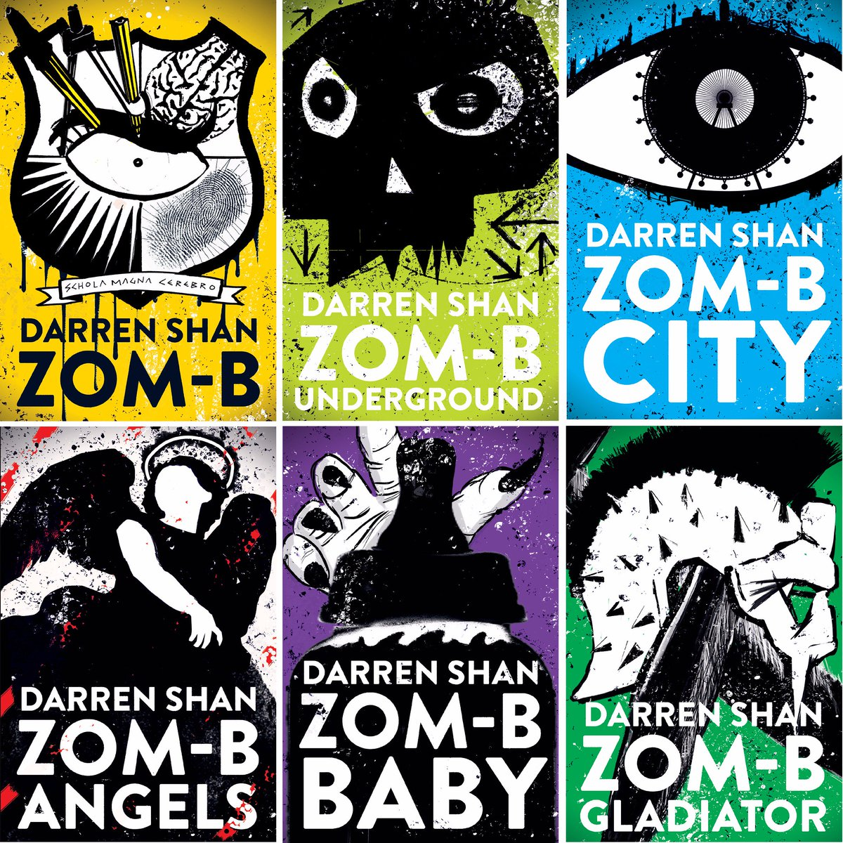 Image result for darren shan zomb book covers