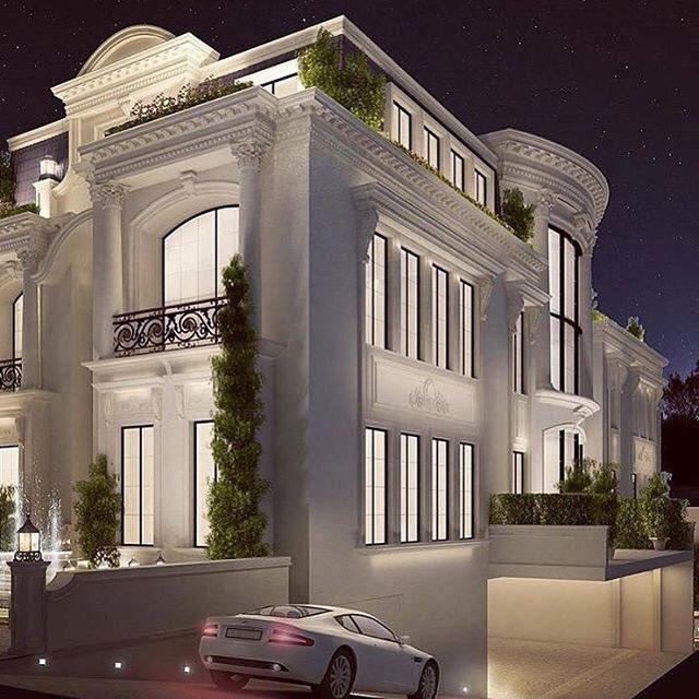 "External Home Design Interior: DAR SALWA On Twitter: ""افكار واجهات فلل"