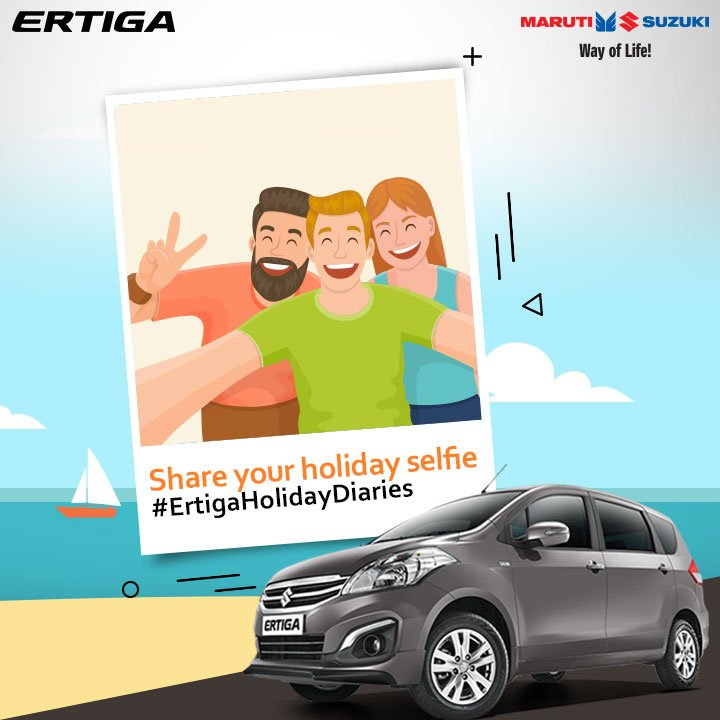 Show us how you spent your long #weekend & stand a chance to win big. Hurry up & share your photos with Maruti Suzuki #ErtigaHolidayDiaries. https://t.co/fYCDWZ6Dfl