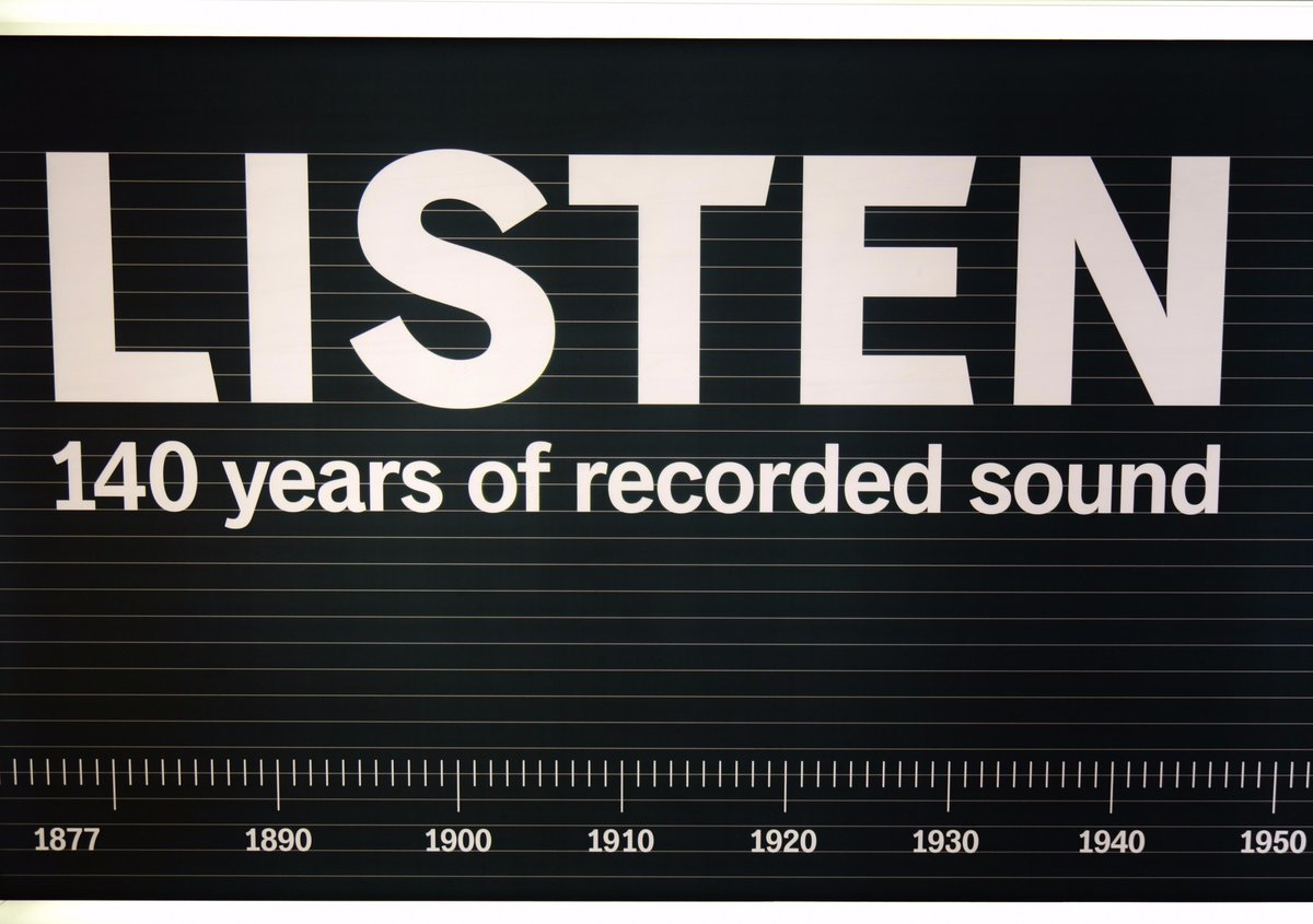 Image result for listen 140 years of recorded sound