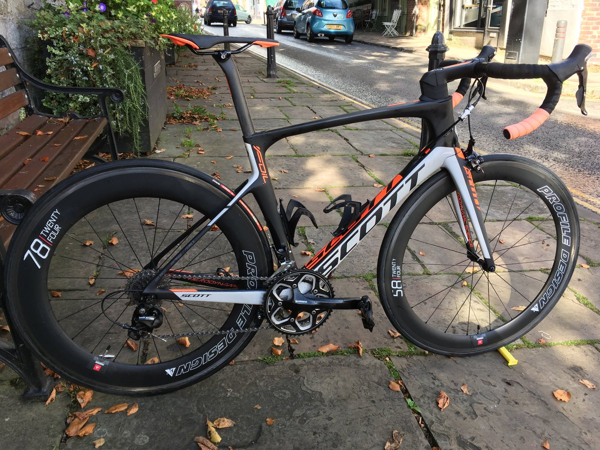 Paul Bonner On Twitter Knuttytriclub 2nd Hand Scott Foil 30 With