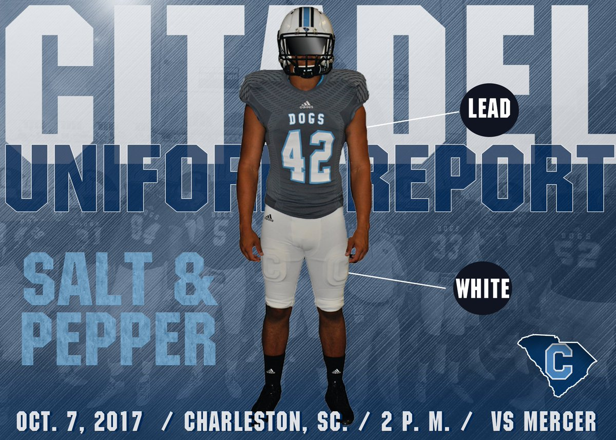 newest 41dec b83e7 The Citadel Football on Twitter: