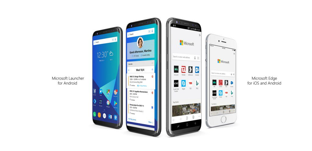 Announcing Microsoft Edge for iOS and Android, Microsoft Launcher https://t.co/S2Z18sMAB3 https://t.co/sq3YqsB4hU