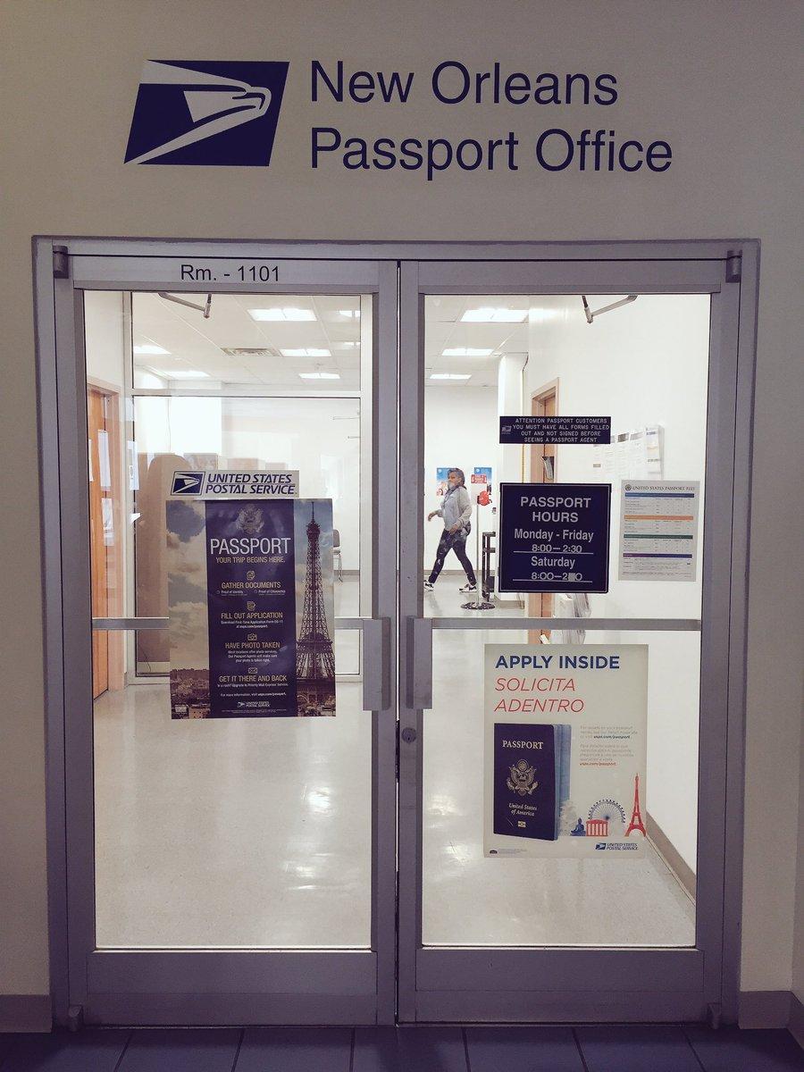 Passport New Orleans >> Alexandre Vialou On Twitter The Us Passport Office In New