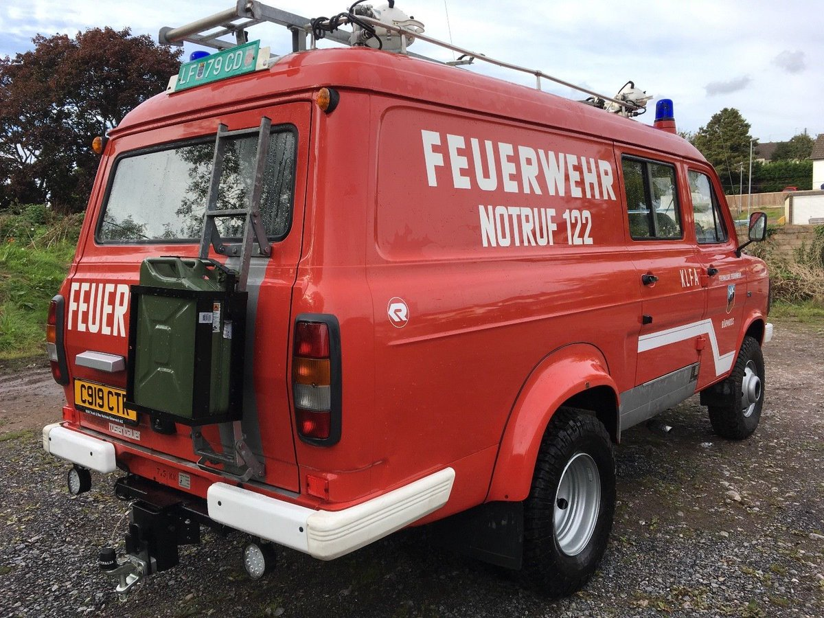 classic projects on twitter mk2 ford transit 4x4 4wd ex austrian fire brigade see ebay link. Black Bedroom Furniture Sets. Home Design Ideas