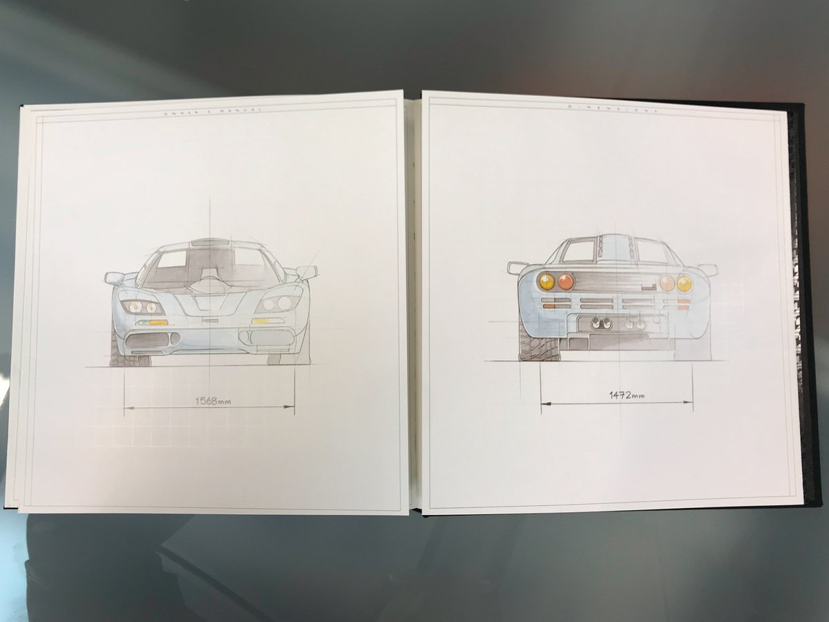 mclaren automotive on twitter a very special book is sat on our rh twitter com mclaren f1 user manual mclaren f1 owners manual pdf