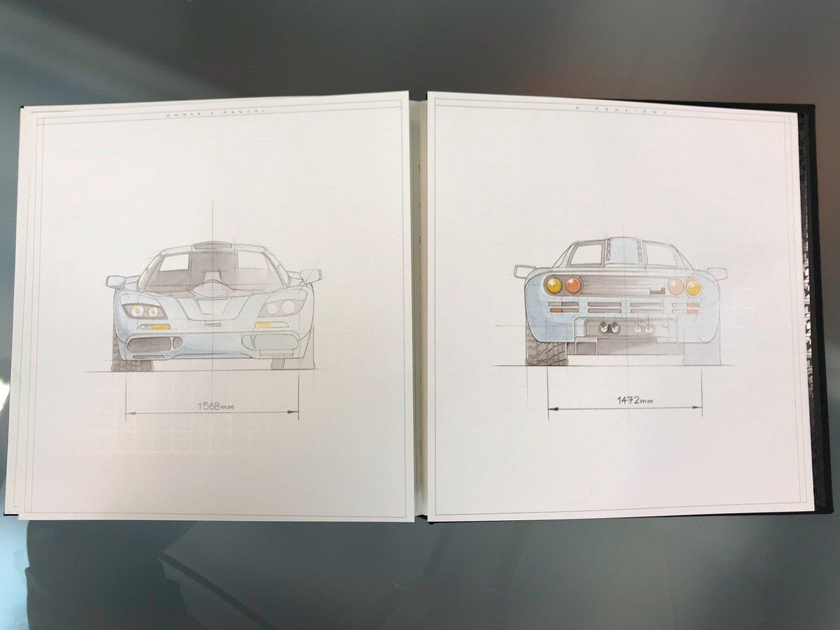 mclaren automotive on twitter a very special book is sat on our rh twitter com McLaren F1 Interior McLaren F1 Jay Leno