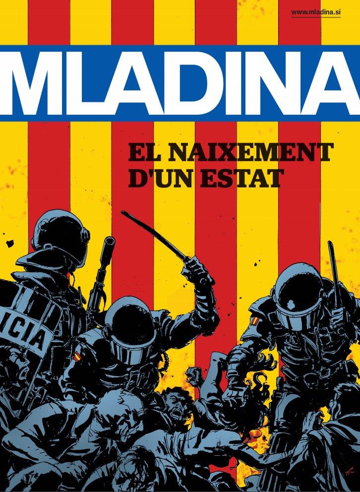 #Mladina40 La portada de la revista en català. @SpletnaMladina >> https://t.co/S7OFNqLnWi #catalonia #referendum https://t.co/9bE5b7BlhL