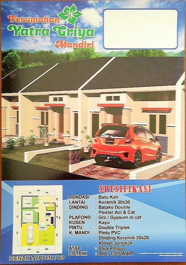 Desain Rumah Subsidi Type 36 60 - Seputaran Rumah