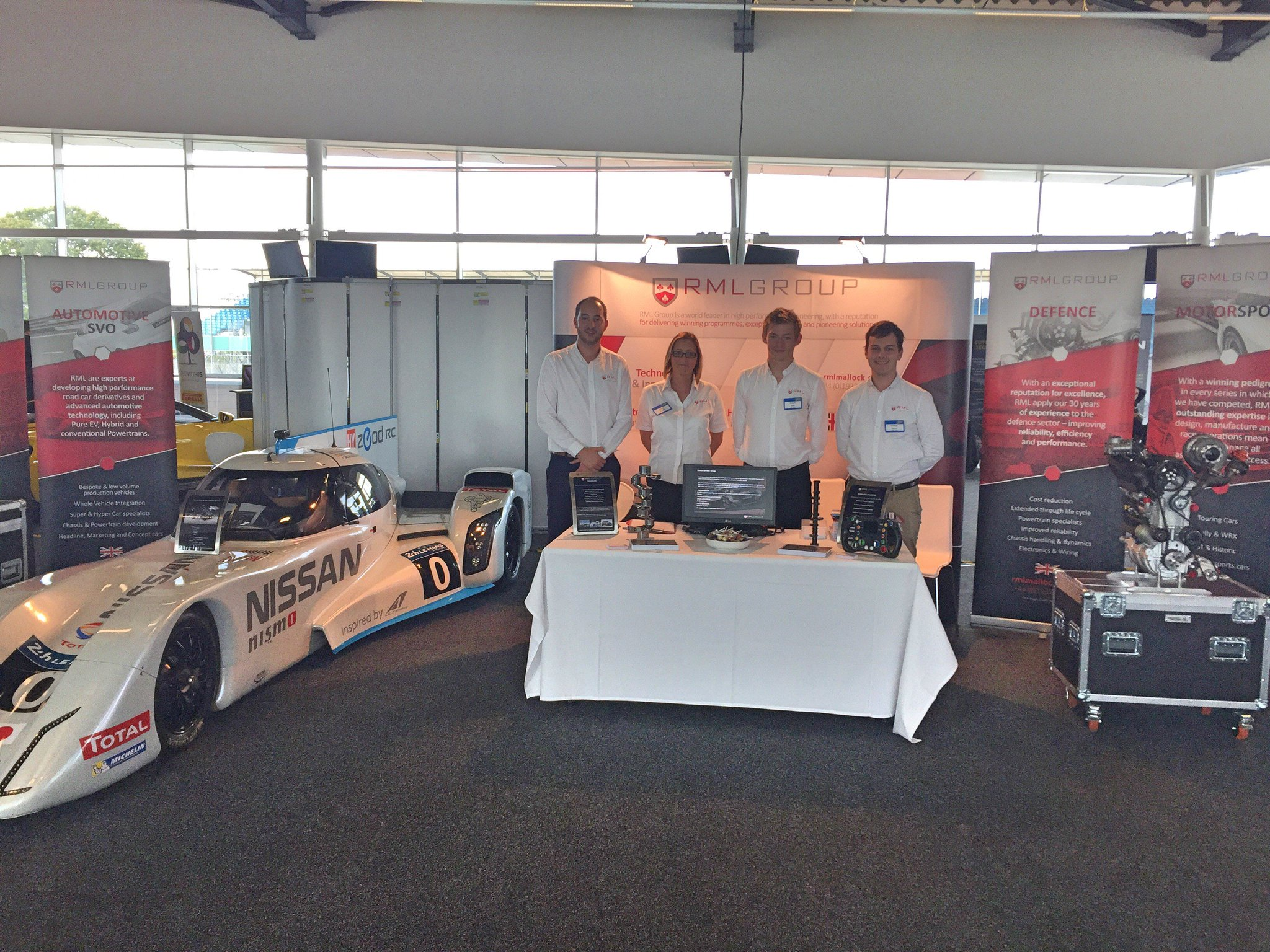 Rml Group On Twitter Rmlgroup Ready For Action At The Vehicle Wiring Specialists Miajobsfair Make Sure You Stop By A Visit Future Engineering Motorsport Automotive