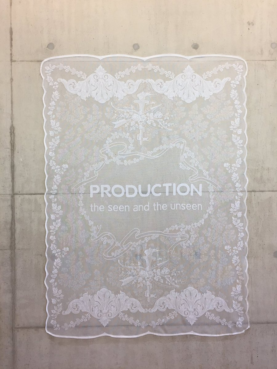 Image result for production the seen and unseen lace