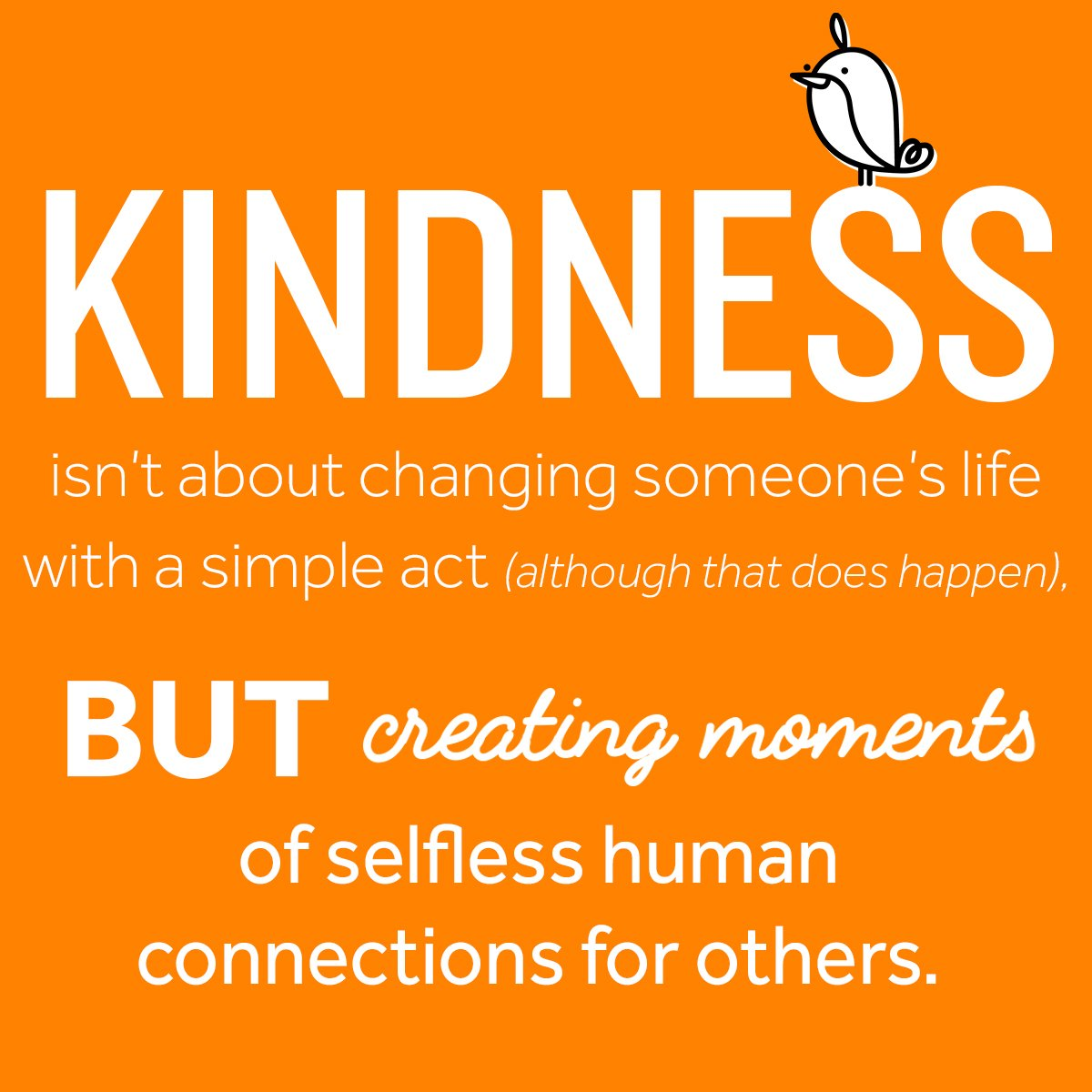 Happy #DoSomethingNiceDay ! Even the sma...