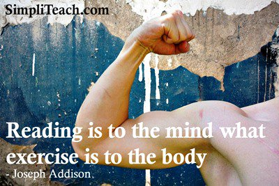 &#39;#Reading is to the mind what exercise is to....&#39; #education #literacy #languagelearning #French   RT @SimpliTeach<br>http://pic.twitter.com/v8UJXndlbY