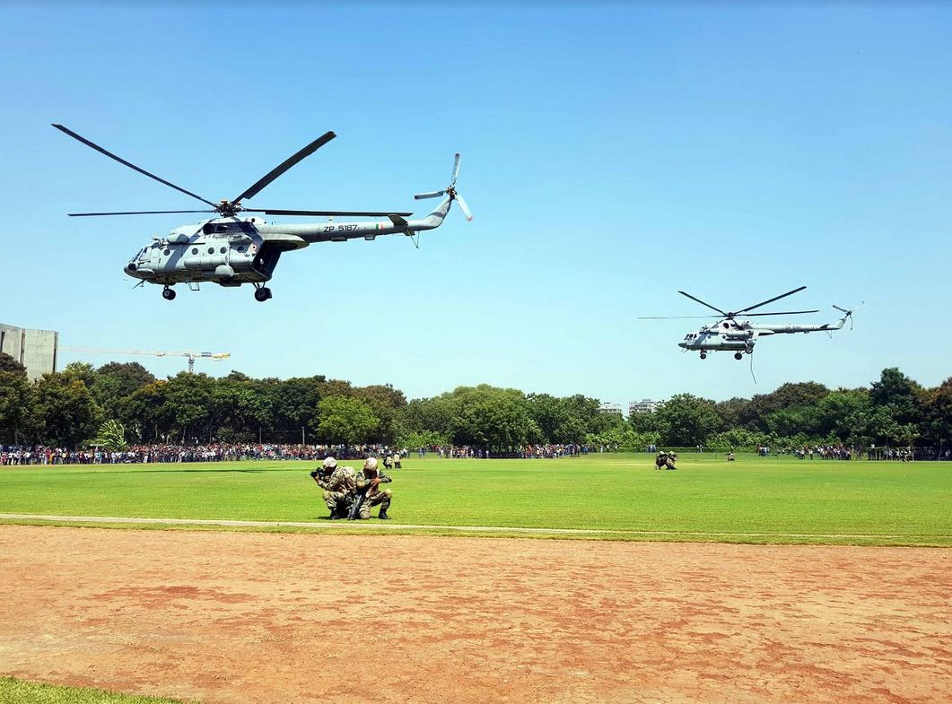 SWAC conducts special awareness drive 'Know Your Air Force' in Gujarat