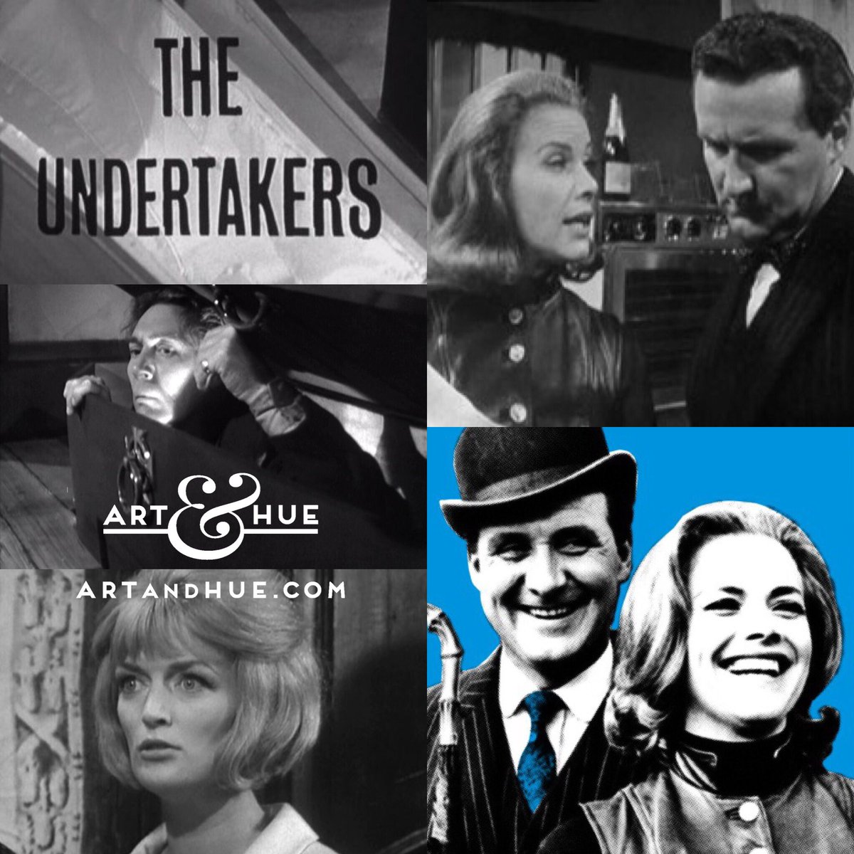 #OnThisDay in 1963 this episode of #TheAvengers first aired    http:// artandhue.com/theavengers  &nbsp;     #cathygale #honorblackman #patrickmacnee #johnsteed<br>http://pic.twitter.com/0cLBS5CFmv