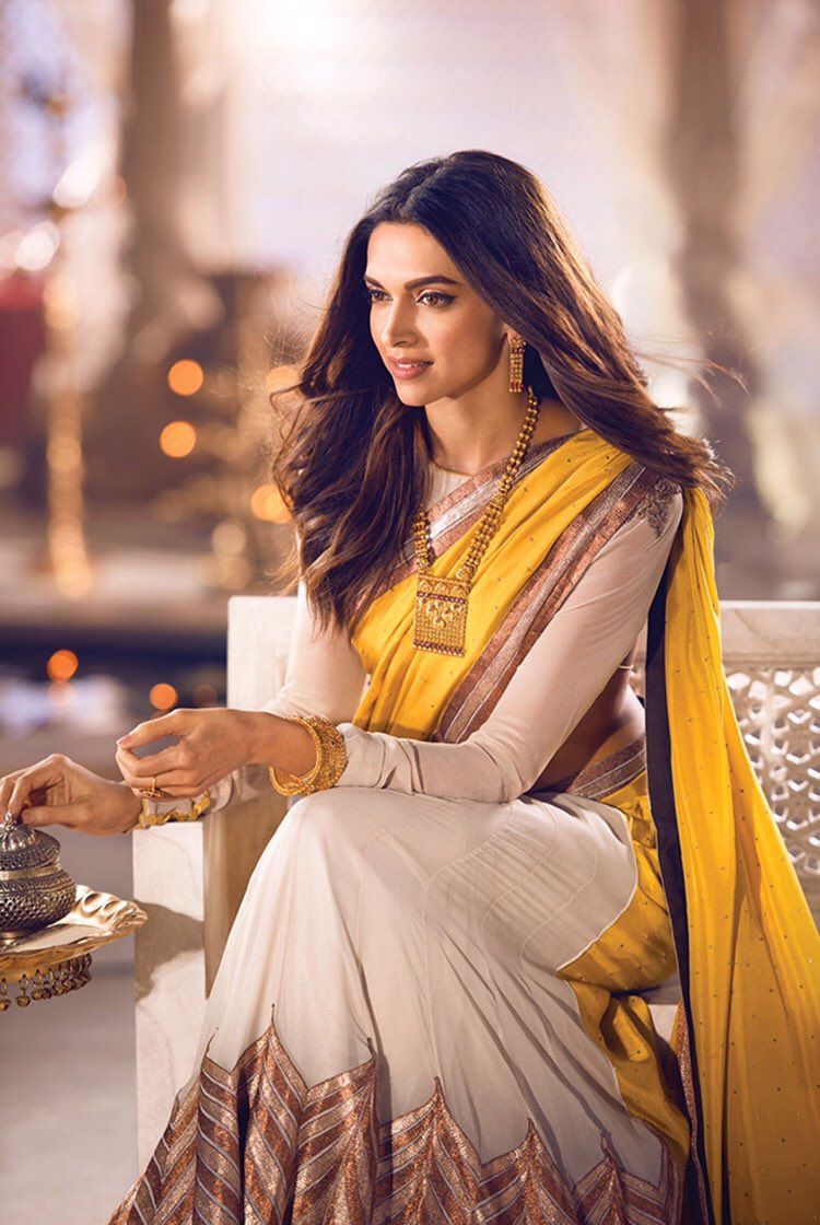 Deepika padukone ru on twitter uhq deepika padukone for for Deepika padukone new photoshoot for tanishq jewelry divyam collection