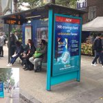 Time is running out to experience the scented bus shelter for the NiQuitin campaign in Tottenham Court Road... Ends Sunday! #OOH #stoptober