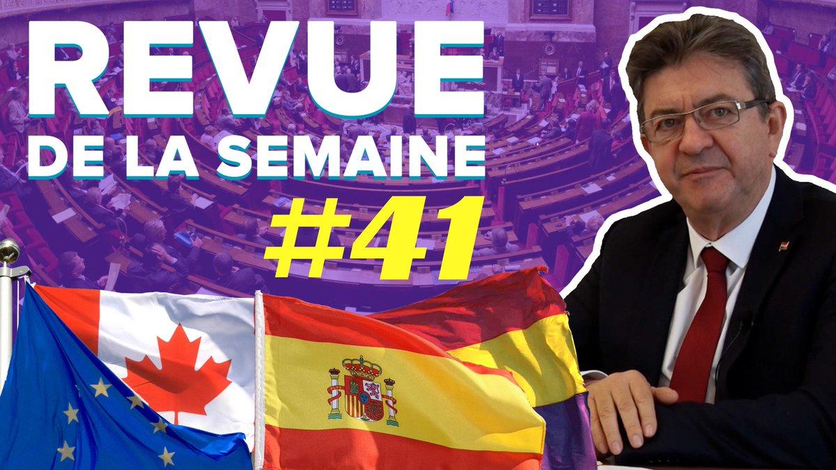 La #RDLS41 est en ligne ! Les thèmes :  1️⃣ Catalogne-Espagne 2️⃣ CETA 3️⃣ 10 octobre ▶️ https://t.co/6eJjZyNv48