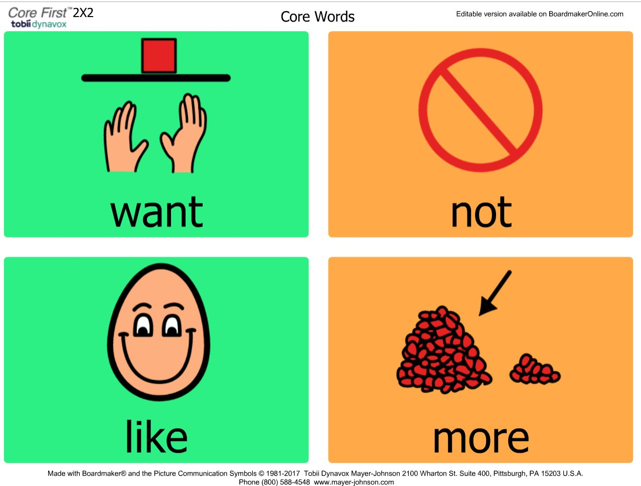 Tina Voizey On Twitter Teaching Core Words Sign Up For A Free