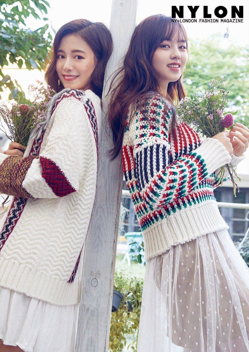 """dramafoxesさんのツイート: """"KIM SO HYUN AND CHOI JI WOO FOR NYLON ..."""