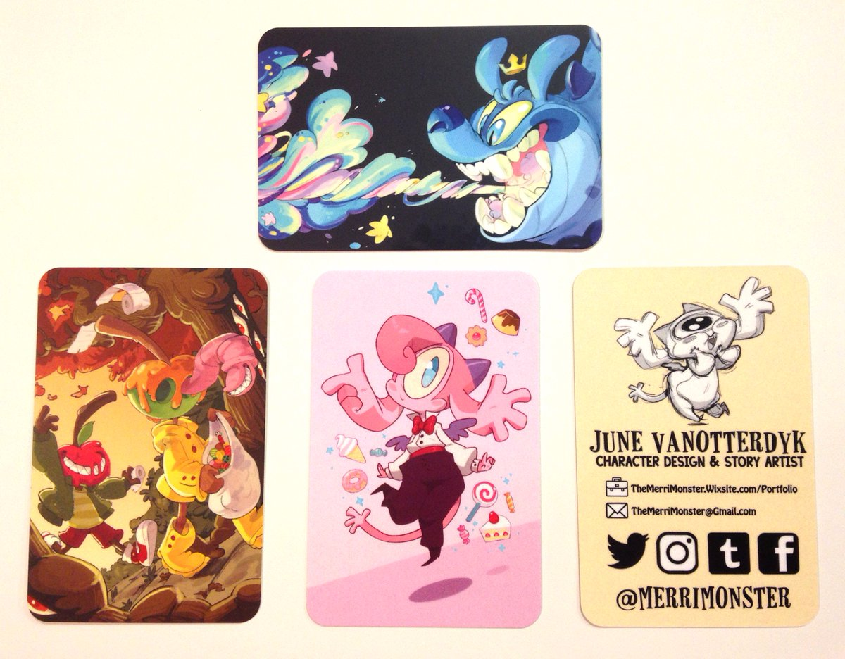 Fairygodmonster on twitter my business cards came in so i thought fairygodmonster on twitter my business cards came in so i thought id share the final design i made and some of the other designs colourmoves