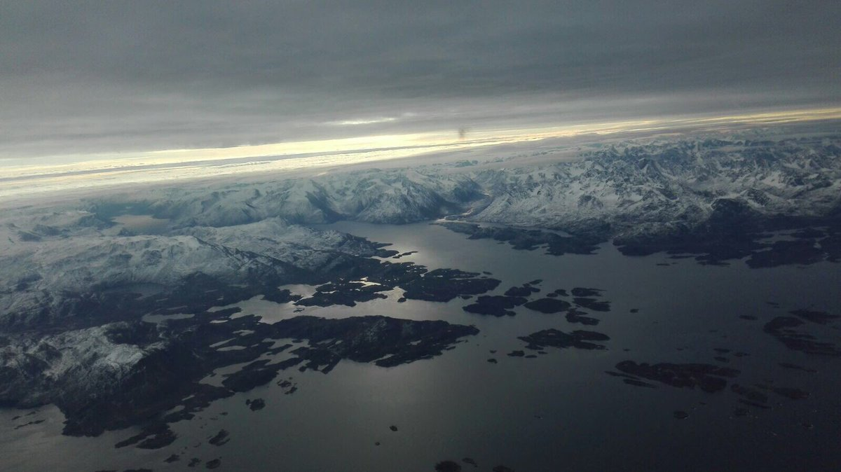 The awesome yet sometimes chilling beauty of Greenland by small plane. Not for the inexperienced or light-hearted. #Greenland #Ferrypilot <br>http://pic.twitter.com/vtqOEnyZTQ