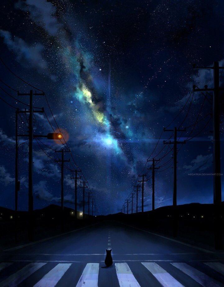 月に猫『今でもたまに夢に見るから忘れられぬ彼方の記憶 』
