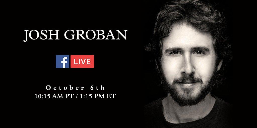 Josh Groban News (@JoshGrobanNews)   Twitter