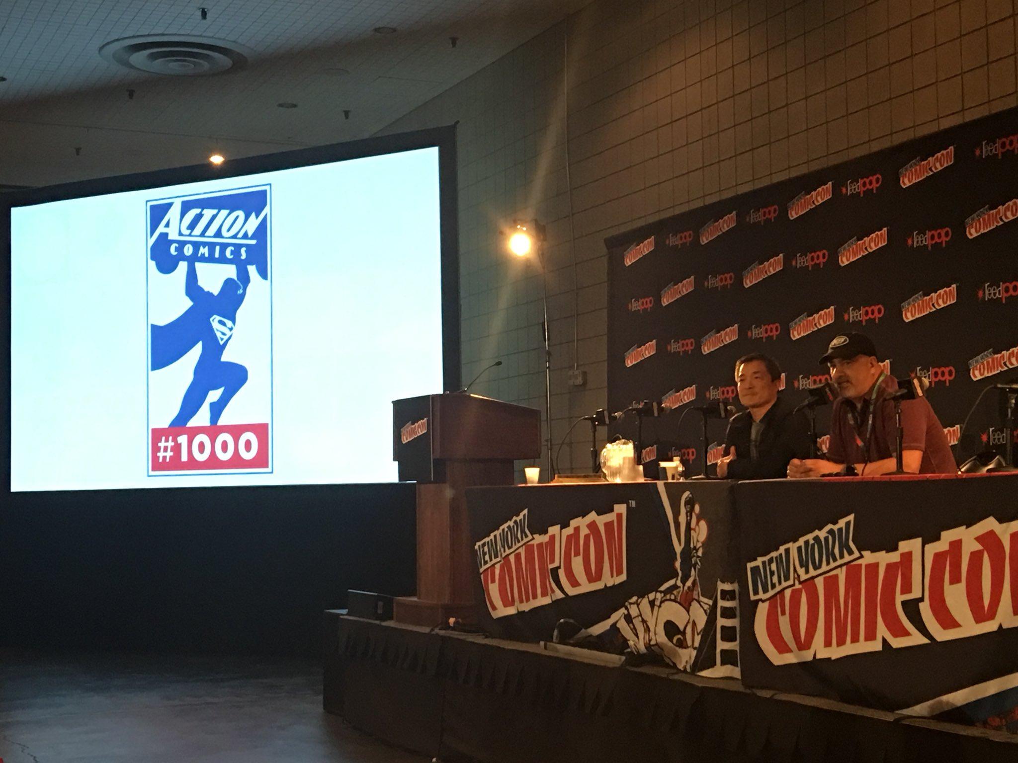 Resultado de imagem para Action Comics 1000 exclusive logo